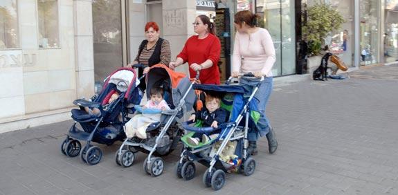 עגלת תינוק / צלם: תמר מצפי